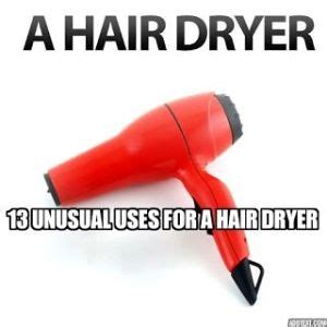 Hair Dryer Attachment Purposes 13 uses for a hair dryer 1 quickly set icing 2