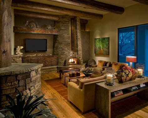 rustic living room decor living room rustic modern house