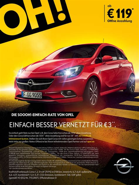 Auto Leasing Ohne Anzahlung übernahme by Opel Bietet Leasing Ohne Anzahlung Spothits