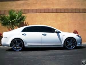 white chevy malibu black rims pictures to pin on