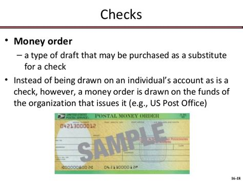Issuer Drawer Money Order by 116 Chap016 Negotiable Instruments