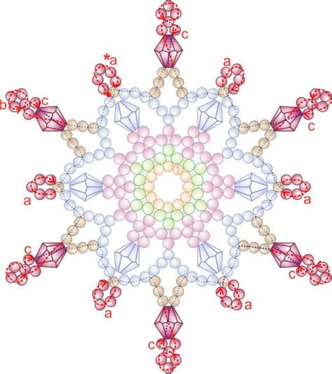 free patterns for ornaments free bead patterns and ideas snowflake 7 ornament pattern