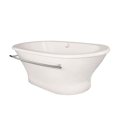 bathtub home depot bathtub acrylic freestanding white oval