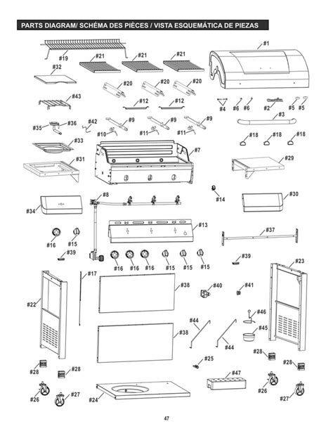 char broil parts diagram char broil infrared ignitor wiring diagram char broil 5