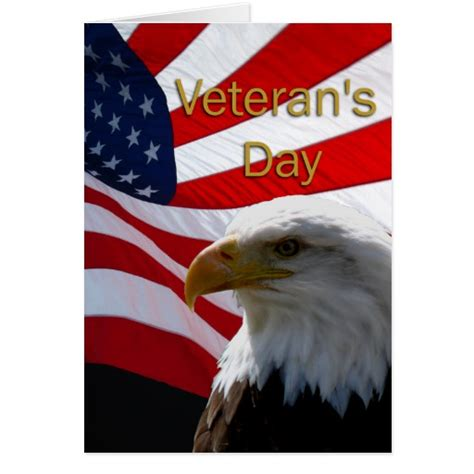 Veteran S Day Card Template by Veterans Day Greeting Card Zazzle