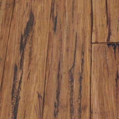 Carbonized Bamboo Flooring by Tecsun Carbonized Strand Woven Bamboo Distressed B0501f