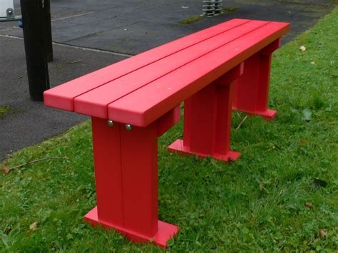 outdoor classroom benches derwent seat bench recycled plastic wood education