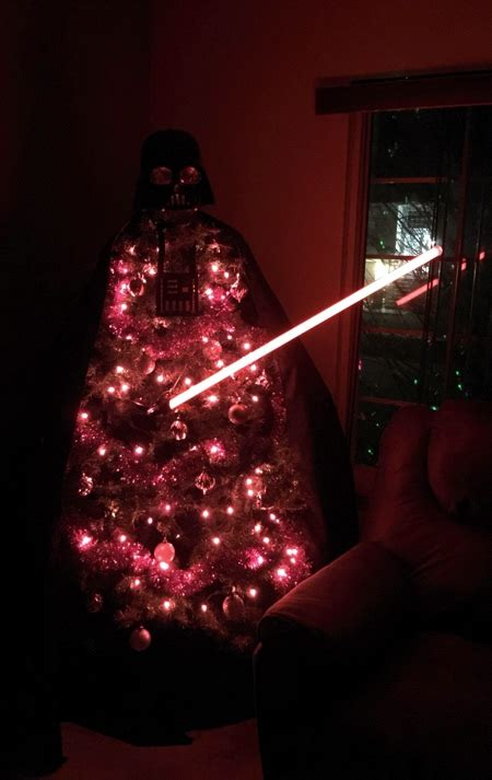 darth vader christmas tree
