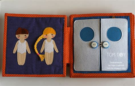Handmade Busy Book - handmade cloth busy book for sergio dressing boy