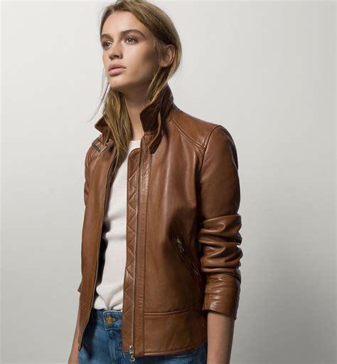 chaqueta cuero massimo dutti chaquetas de cuero mujer massimo dutti chaquetas de moda