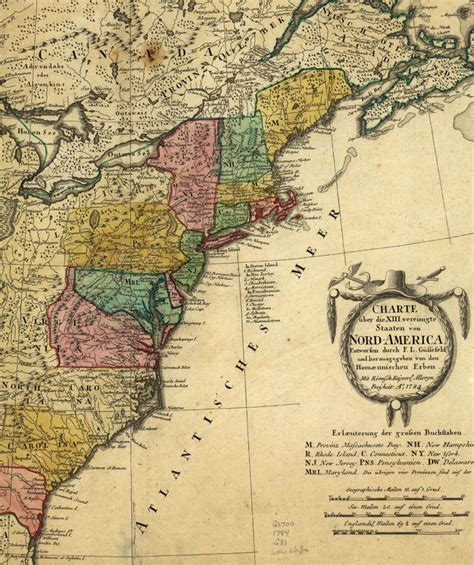 map us during 1700s maps of 18th century america
