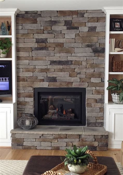 stack fireplaces how to create the stacked fireplace look on a budget martha stewart