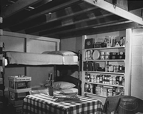 shelter in basement 187 fallout shelters during the cold war