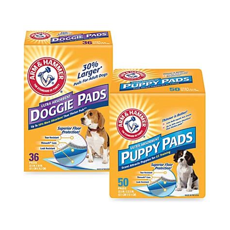 arm and hammer puppy pads arm hammer 174 ultra absorbent pads bed bath beyond