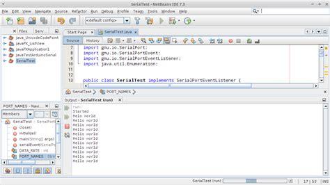tutorial java usb arduino er setup rxtx for arduino and java exle