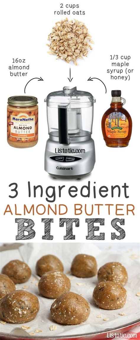 b protein ingredients almond butter 3 ingredients and almonds on