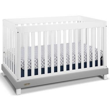 graco white convertible crib graco cribs maddox convertible crib in white gray free