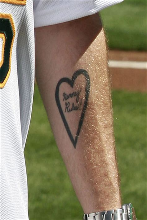 jonah hill tattoo jonah hill throws the pitch zimbio