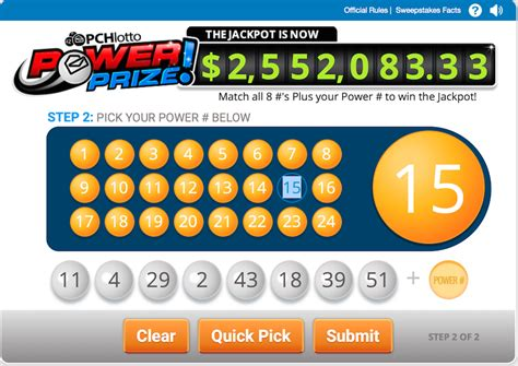 Pchlotto Sweepstakes - big sweepstakes and new sweepstakes to enter at pch pch blog