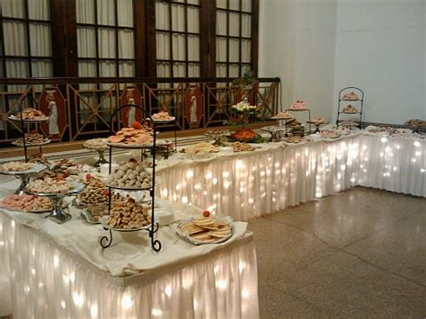 buffet table ideas team wedding sit dinner or buffet reception 5 considerations when deciding on your
