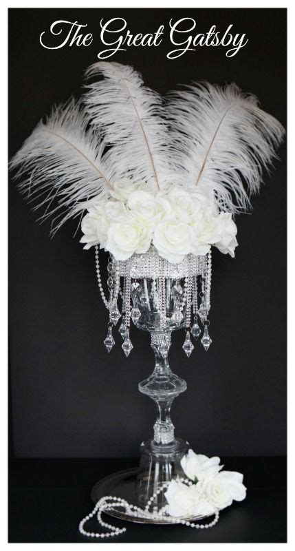 great gatsby centerpieces great gatsby prom centerpieces www imgkid the