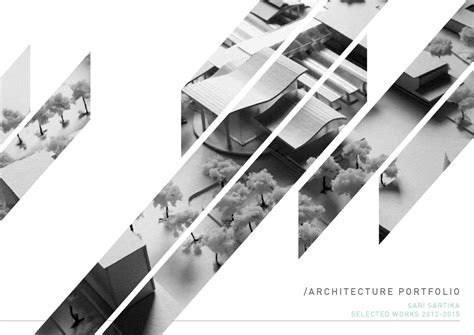 Best Resume Building Online by Architecture Portfolio By Sari Sartika Issuu