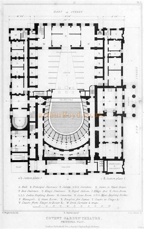 opera house floor plan opera house floor plan