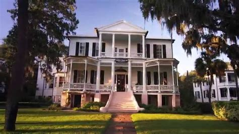 bed and breakfast beaufort sc the cuthbert house inn youtube