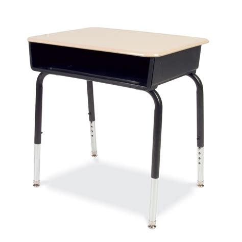 Student Desk In Virco 785 Series Hard Plastic Top Student Desk Set Of 2 785m
