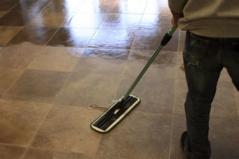 Mopping Bathroom Floor by How To Clean Floor Tiles By Yourself Express Flooring