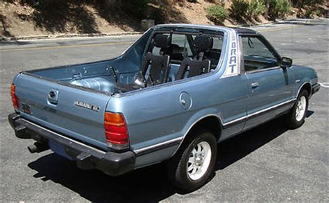 how to fix cars 1986 subaru brat auto manual jpsgarage