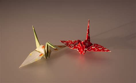 Origami Wiki - file cranes made by origami paper jpg wikimedia commons