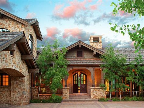 colorado mountain home plans summer mountain home in vail valley
