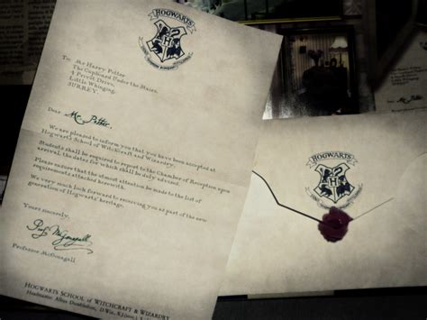 Hogwarts Acceptance Letter Original Harry Potter Hogwarts Letter Text Image Search Results