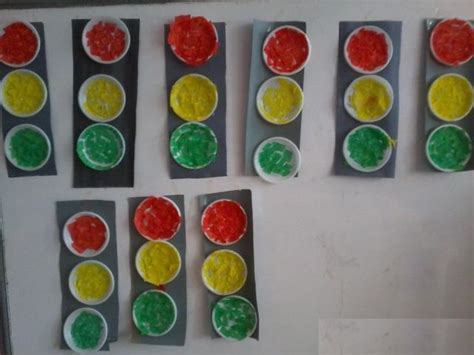 traffic light craft for crafts actvities and worksheets for preschool toddler and