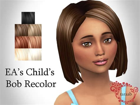 child bob haircut sims 4 child bob haircut sims 4 cazy s deangelo hairstyle set
