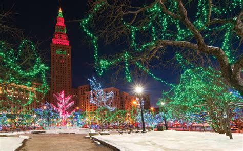 christmas lights cleveland ohio 50 reasons why we love winter in cleveland stop your