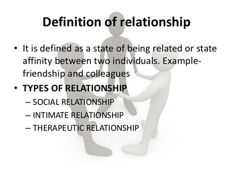 Define Relationship Unit 5 Therapeutic Communication And Interpersonal
