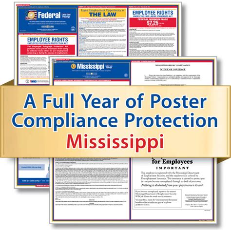 mississippi labor poster service ms poster compliance