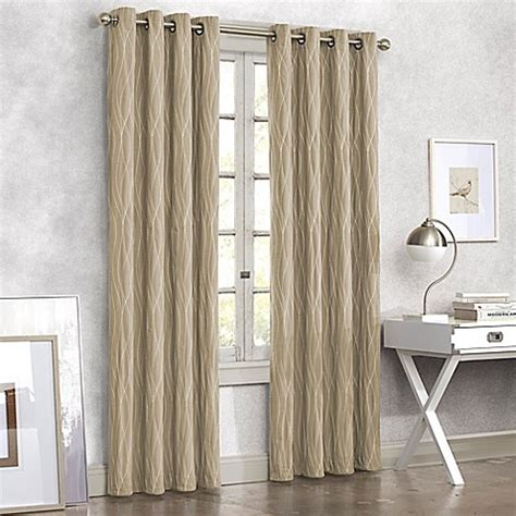 Bed Bath Beyond Window Curtains Tangent Grommet Top Window Curtain Panel Bed Bath Amp Beyond