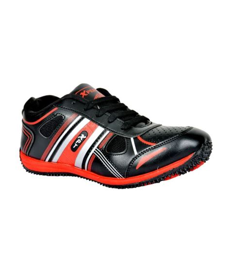 buy xpert x zone 2 black sport shoes for snapdeal