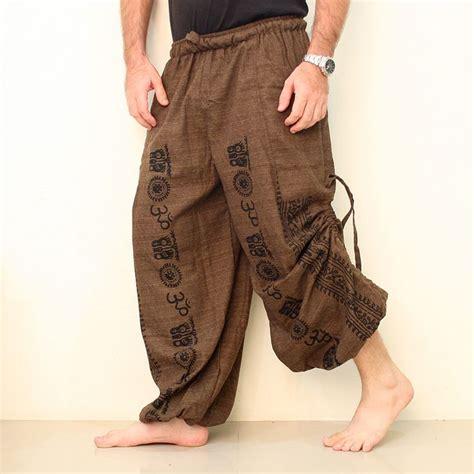 cotton yoga pants pattern 25 best ideas about harem pants men on pinterest harem