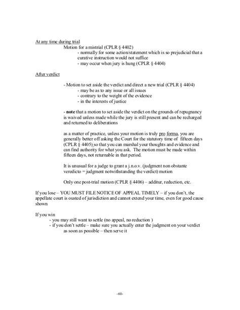 pattern jury instructions new york negligence trial of a negligence case