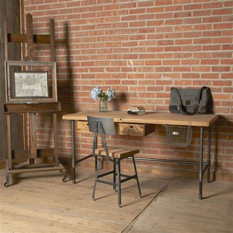 rustic industrial desk chair rustic and industrial home office treatment and
