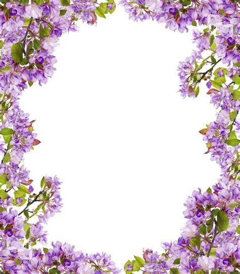 fiori color lilla carta da parati rami di albero lilla fiore cornice