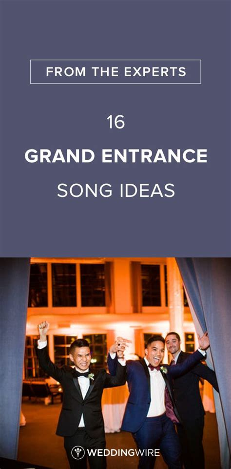 Wedding Entrance Song List by Best 25 Wedding Ceremony Entrance Songs Ideas On