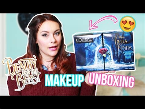 L Oreal And The Beast Harga and the beast l oreal makeup unboxing review