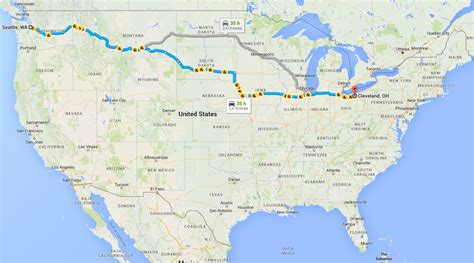 cleveland usa map steve deb s travels across the usa in a subaru outback