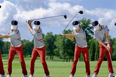 swing de golf swing sequence kevin na australian golf digest