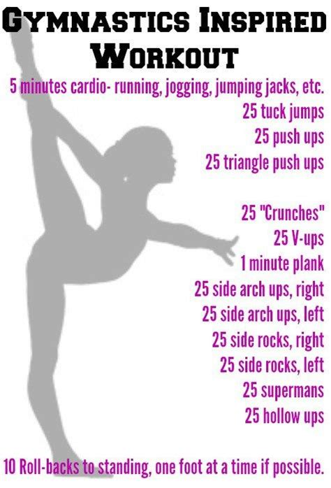 best 25 gymnast workout ideas on cheer